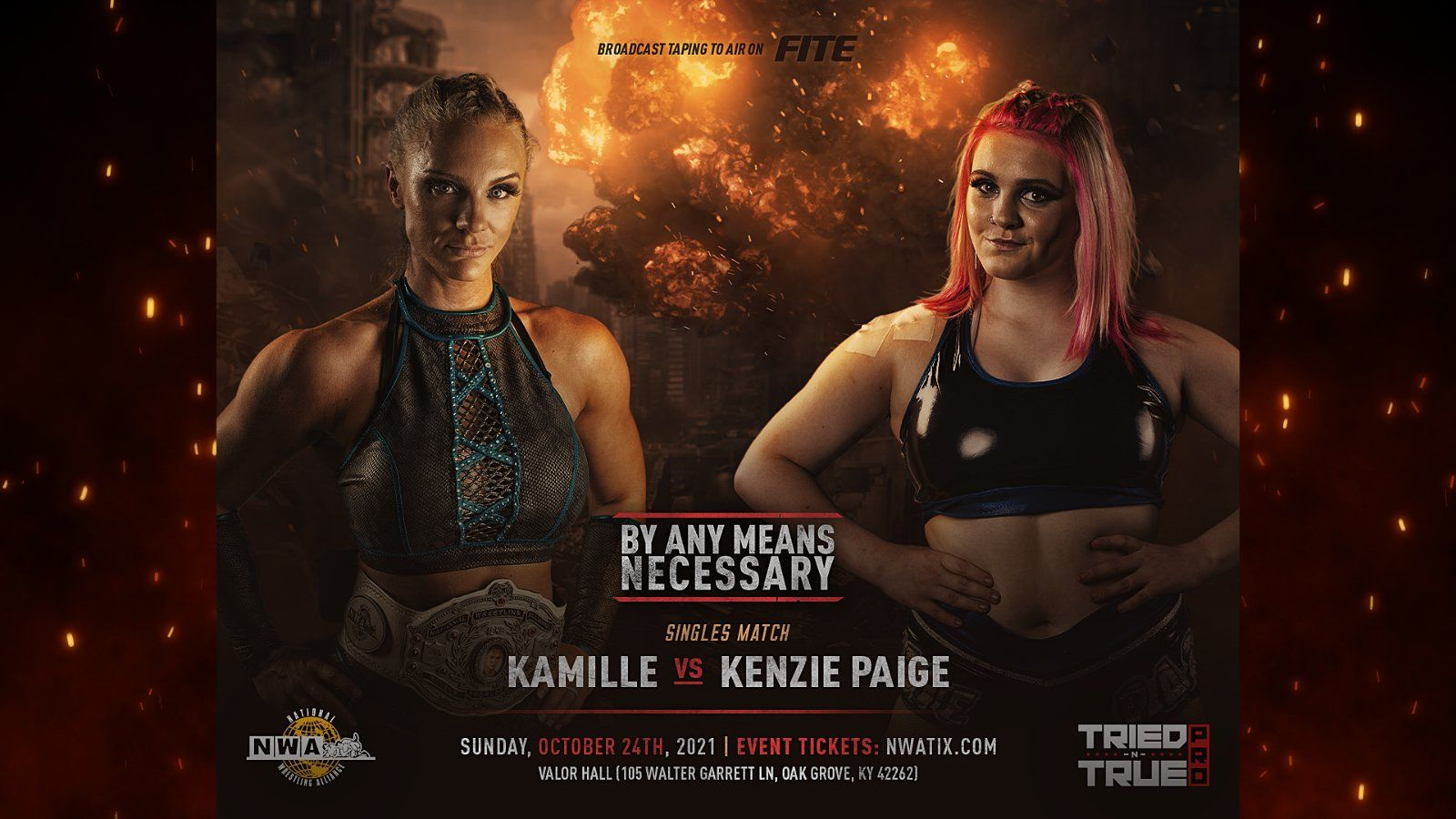 """Women's Title Match Announced For NWA """"By Any Means Necessary"""" PPV"""