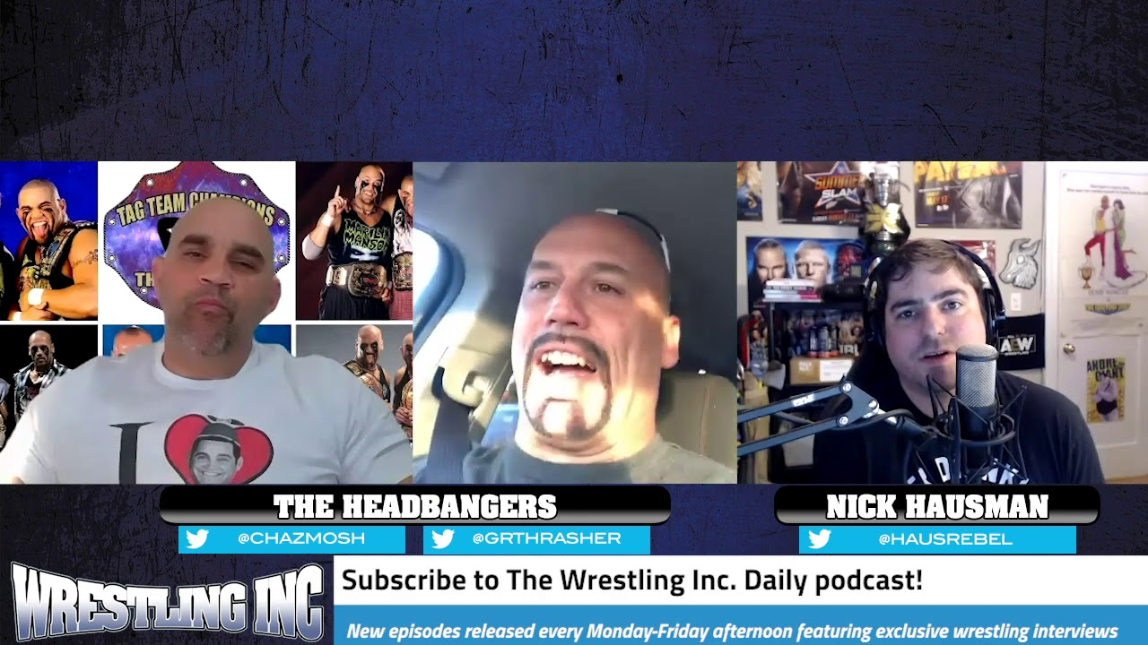 """Thrasher Calls The Headbangers """"The Most Underrated Tag Team Of All Time"""""""