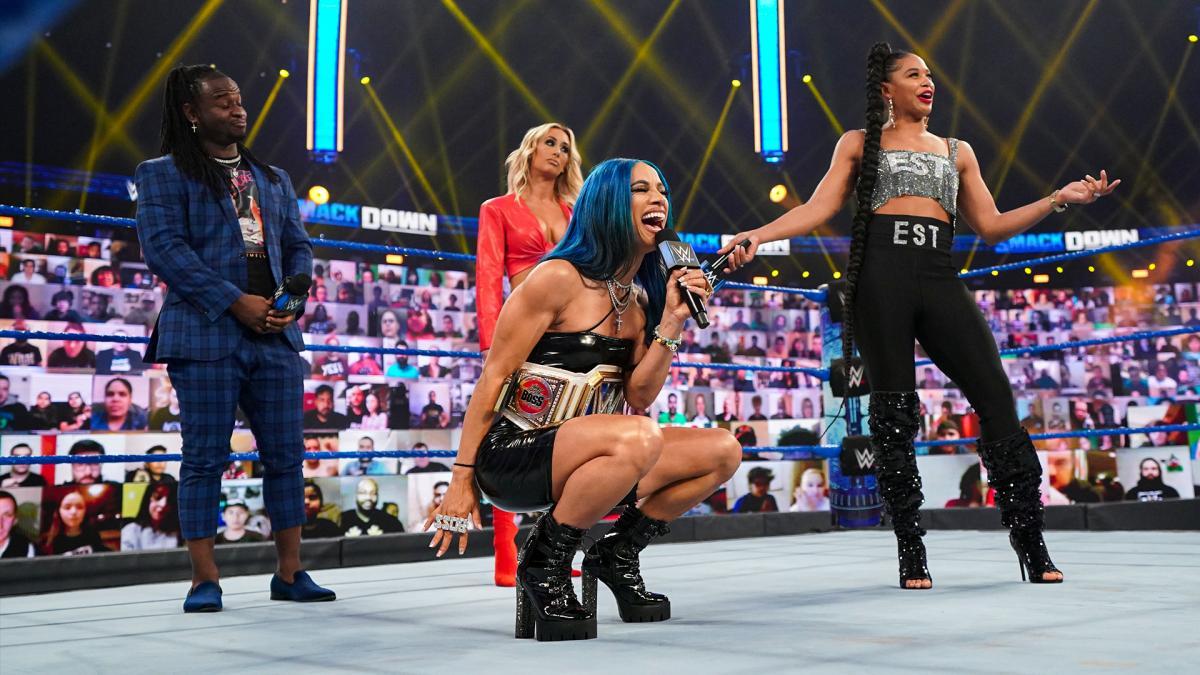 Sasha Banks Says She S Ready To Make History At Wwe Fastlane Wrestling Inc