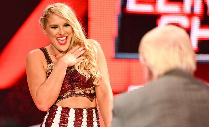 Lacey Evans Shares Inside Scoop On Pregnancy; Set To Become Champion On WWE Raw 1