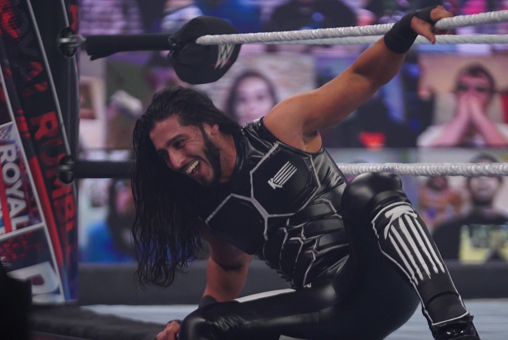 Mustafa Ali Reveals He's Been Wrestling With A Torn PCL