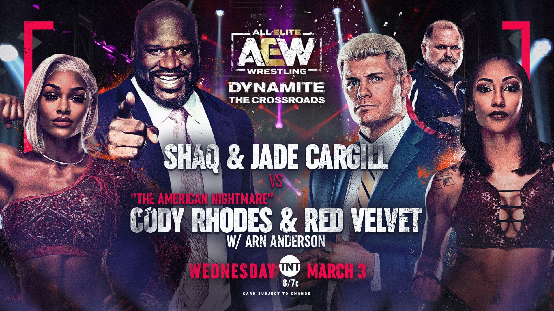 AEW Dynamite Results: Shaq In Tag Team Action, Paul Wight Debuts, Women's Finals