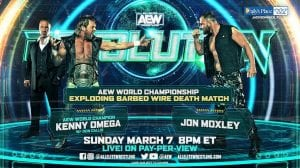Exploding Barbed Wire Deathmatch Takes Place At AEW Revolution