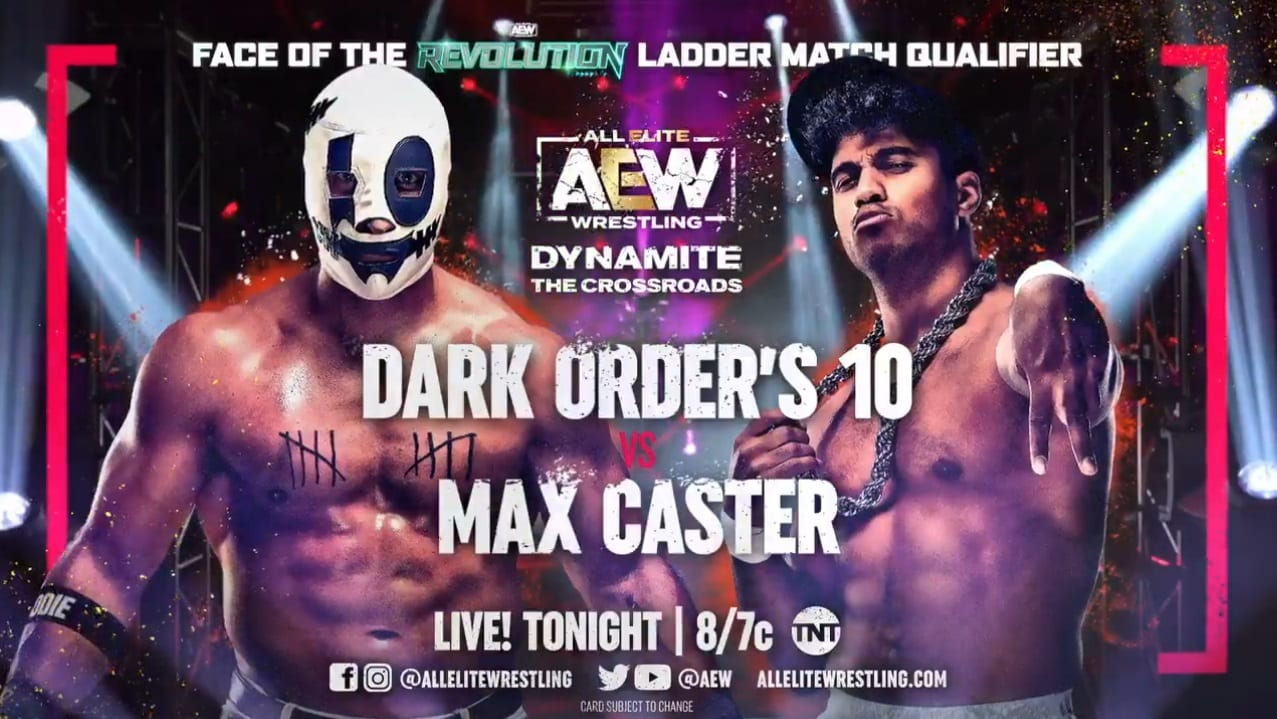 Update On AEW Face Of The Revolution Ladder Match Participants