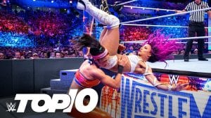 WWE Sends Custom Title To Sports Team, Sasha Banks' Top Aerial Attacks, WWE – Instagram