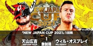 NJPW New Japan Cup Results: Will Ospreay Vs. Hiroyoshi Tenzan