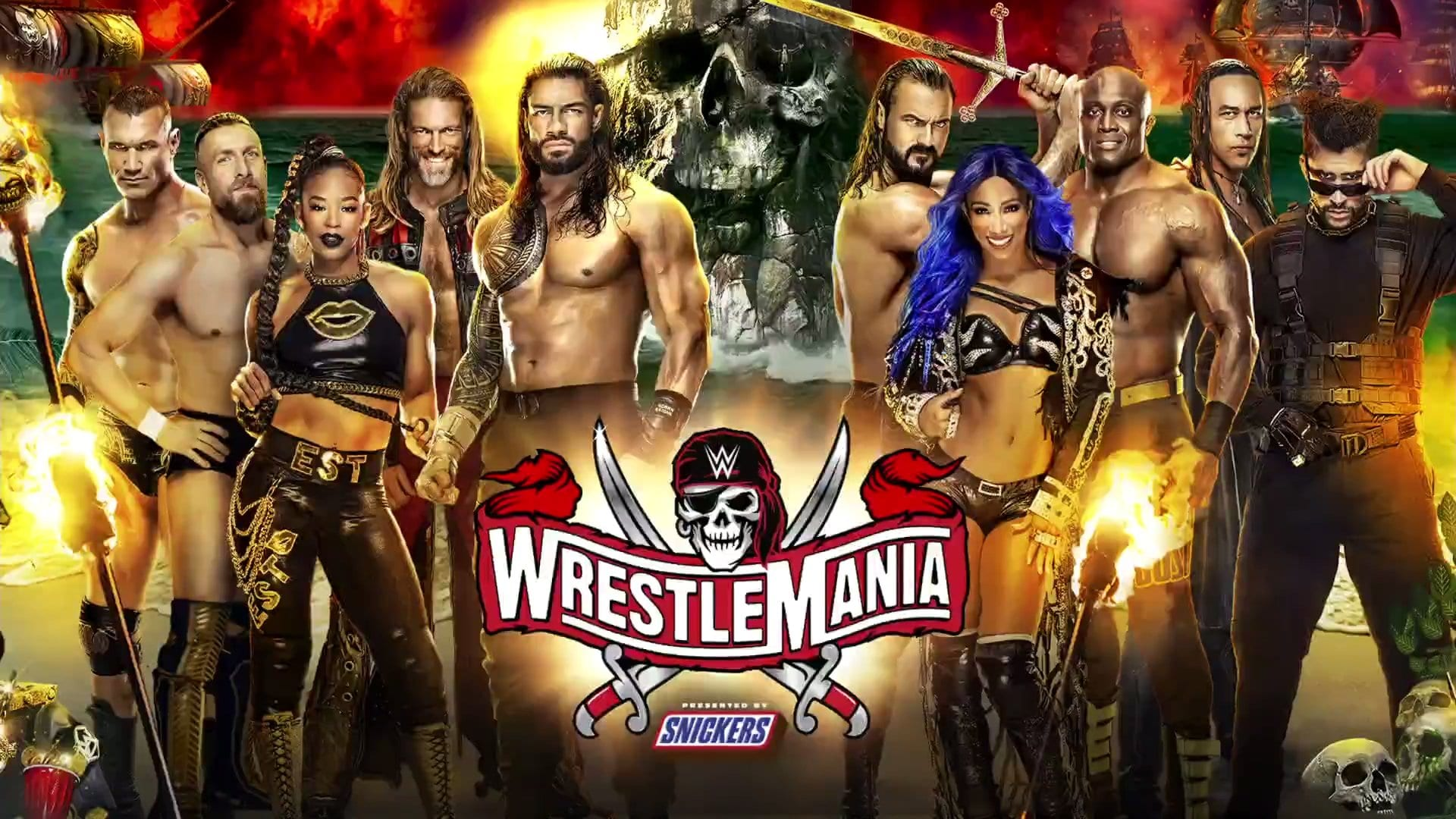Wwe Announces Main Event And Opening Match For Wrestlemania 37 Night One Wrestling Inc