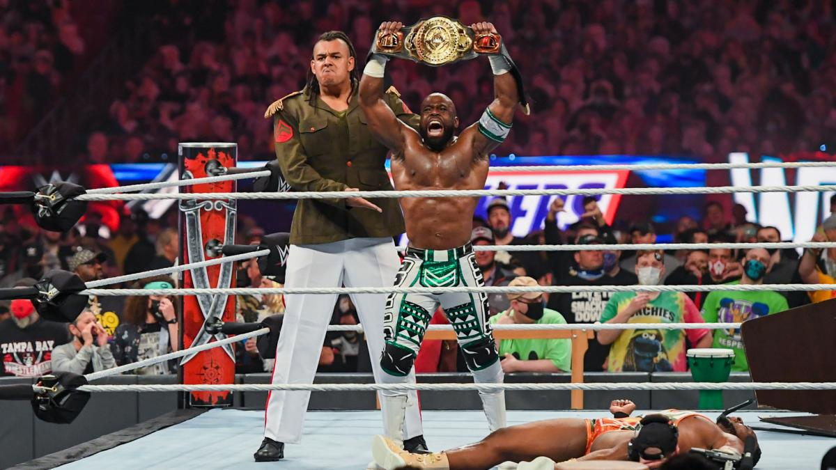 Apollo Crews On His New Muscle And Winning The WWE Intercontinental Title  At WrestleMania - Wrestling Inc.