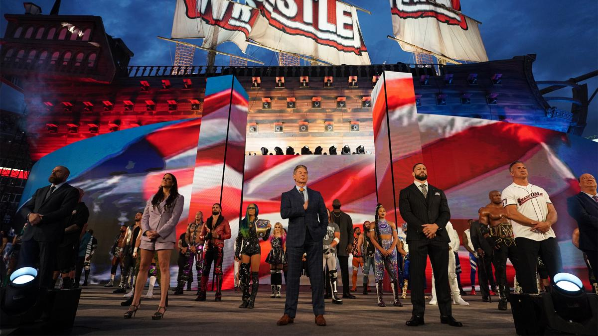 WWE Announces More Than 25,000 Fans For Night One Of WrestleMania 37 -  Wrestling Inc.